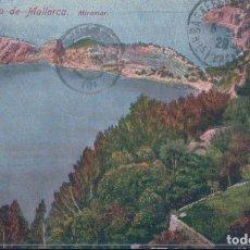 Postales: POSTAL PALMA DE MALLORCA - MIRAMAR - AM - 9 - CIRCULADA SELLO ALFONSO XIII. Lote 178099493