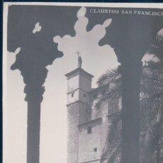 Postales: POSTAL CLAUSTRO SAN FRANCISCO - AGFA - MALLORCA. Lote 178331902