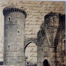 Postales: P-9485.MALLORCA. TORRE DEL HOMENAJE DEL CASTILLO DE BELLVER. J TRUYOL FOTÓGRAFO. JUNIO 1905. Lote 178354246