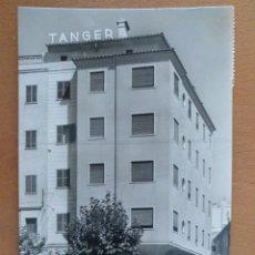 Postales: POSTAL MALLORCA RESIDENCIA TANGER CASA PLANAS CIRCULADA 14 X 9 CM (APROX). Lote 178673975
