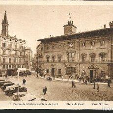 Postales: POSTAL PALMA DE MALLORCA, PLAZA DE CORT - FOTO L. ROISIN. Lote 178812381
