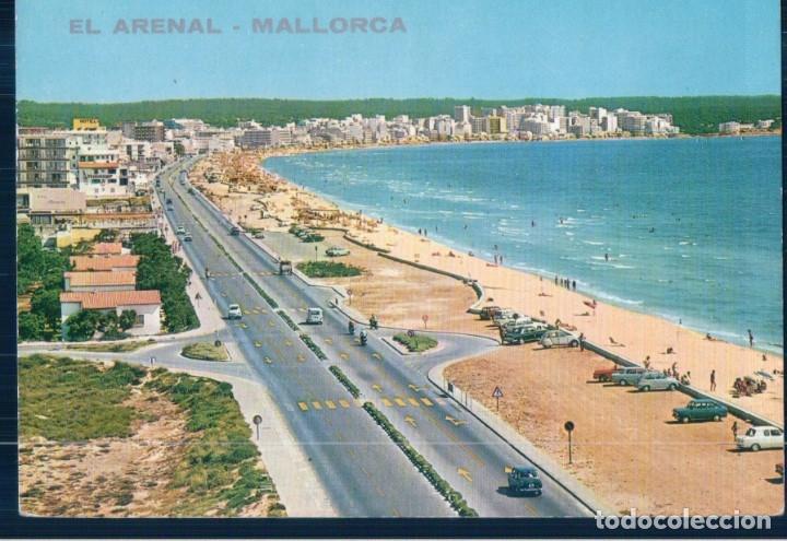 POSYAL EL ARENAL - MALLORCA - HOTELES MALLORQUINES - CIRCULADA (Postales - España - Baleares Moderna (desde 1.940))