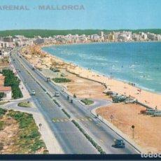 Postales: POSYAL EL ARENAL - MALLORCA - HOTELES MALLORQUINES - CIRCULADA. Lote 178894380