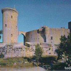 Postales: POSTAL MALLORCA (BALEARES) POSTAL. CASTILLO DE BELLVER. EDITA: CASA PLANAS - NEVCOLOR 154. Lote 178994697