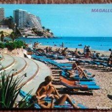 Postales: TURISTAS EN MAGALLUF - PLAYA. Lote 179080060