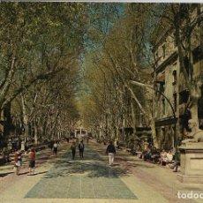 Postales: MALLORCA, PALMA, PASEO DEL GENERALISIMO - FOTO PLANAS 1020 - S/C. Lote 179089932