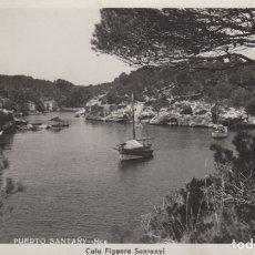 Cartes Postales: POSTAL MALLORCA PUERTO SANTANY - CALA FIGUERA SANTANYI FOTO TRUYOL. Lote 179091933