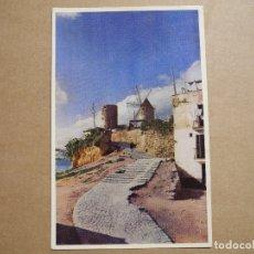 Postales: MALLORCA. PALMA. MOLINOS DE EL JONQUET. N. 1008 ESCRITA 1954. Lote 180036213