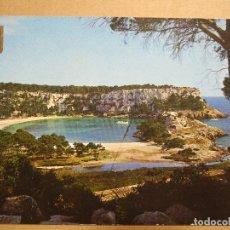 Postales: ISLA DE MENORCA. FERRERÍAS. CALA DE SANTA GALDANA. ED. SUBIRATS 33 CIRCULADA 1968. Lote 180036377