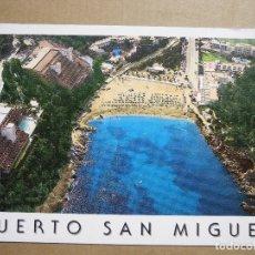 Postales: IBIZA PUERTO DE SAN MIGUEL 1767 NUEVA. Lote 180036788