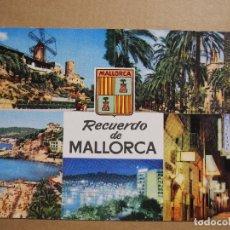 Postales: PALMA DE MALLORCA. ED. RAKER 327 CIRCULADA 1962. Lote 180037157