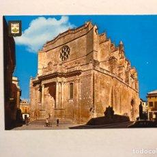 Postales: ISLA DE MENORCA. CIUDADELA. POSTAL NO.2, CATEDRAL. EDITA: A. SUBIRATS (H.1970?). Lote 180134507