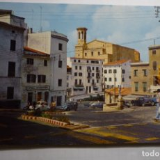 Postales: POSTAL MENORCA - MAHON PL.ESPAÑA Y J.ANTONIO. Lote 180339562