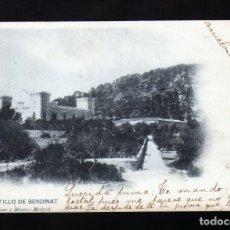 Postales: MUY ANTIGUA POSTAL DE MALLORCA DEL CASTILLO DE BENDINAT CIRCULADA EN 1903. Lote 181082588