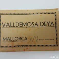 Postales: 8 POSTALES MALLORCA VALLDEMOSA-DEYA ( CASA TRUYOL ). Lote 181397290