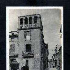 Postales: MUY CURIOSA POSTAL FOTOGRAFICA DE POLLENSA (MALLORCA) AÑOS 20 SEGÚN EL DORSO COMPRADA EN 1929. Lote 181426568