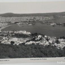 Postales: PALMA DE MALLORCA, VISTA GENERAL DE PALMA. Lote 181565105
