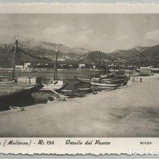 Postales: POSTAL ANDRAITX DETALLE DEL PUERTO BARCAS ED. ROTGER N° 156 MALLORCA . Lote 181692470