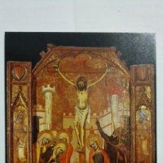 Postales: POSTAL MUSEO DE MALLORCA - CRUCIFIXION. Lote 182294140