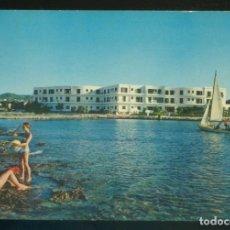 Postales: EIVISSA. SANT ANTONI. *HOTEL TAGOMAGO* ED. C. PLANAS Nº 74. CIRCULADA 1966. . Lote 182586282