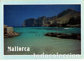 MALLORCA - BALEARES - CALA DE SAN VICENTE - CIRCULADA CON SELLO EN PALMA EL 27-07-1993 (Postales - España - Baleares Moderna (desde 1.940))