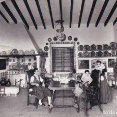 Postales: PALMA DE MALLORCA - CASA TÍPICA MULET GÉNOVA - FOTO TRUYOL. Lote 183171687