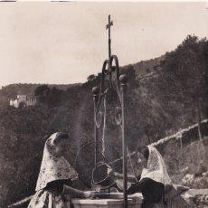 Postales: PALMA DE MALLORCA - ESCENA TÍPICA EN CASA MULET - GENOVA - FOTO TRUYOL - SELLO RODOVRE AVIS. Lote 183172303