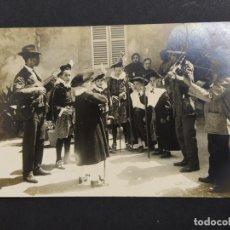Postales: POLLENSA-POLLENÇA-FIESTA TIPICA-COL·BESTARD-88-POSTAL FOTOGRAFICA ANTIGUA-(64.344). Lote 183322418