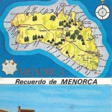 Postales: MENORCA - LIBRETO CON DIEZ POSTALES (AÑOS 70). Lote 183386663