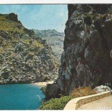 Postales: 1443 - MALLORCA.- TORRENTE DE PAREIS.- PLAYA Y CAMINO. Lote 183570922