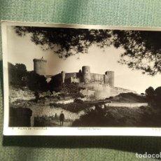 Postales: POSTAL PALMA DE MALLORCA - CASTILLO DE BELLVER. Lote 183619617