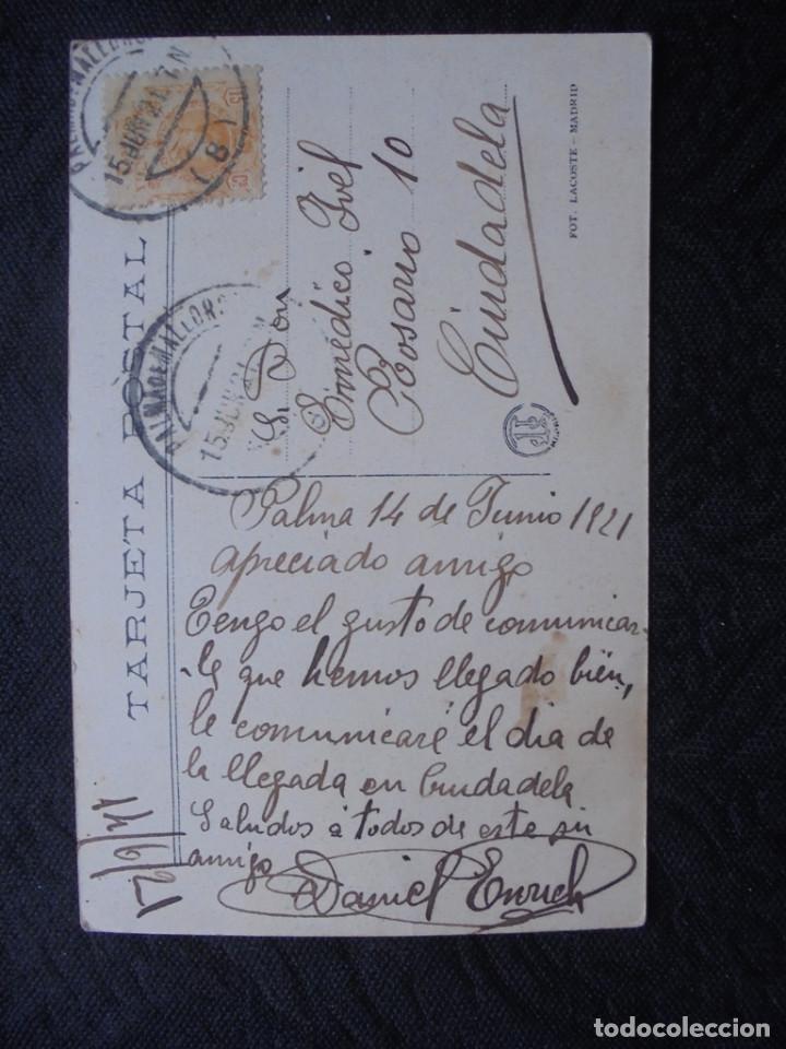Postales: Postal Mallorca Soller 1921 - Foto 2 - 183858913