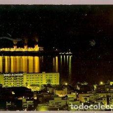 Postales: ESPANA & CIRCULADO, LAS PALMAS DE GRAN CANARIA, VISTA PARCIAL DE NOCHE, LISBOA 1969 (10050) . Lote 183906925