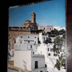 Postales: Nº 33302 POSTAL IBIZA CIUDAD ALTA Y CATEDRAL. Lote 183935112