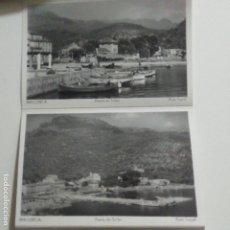 Postales: MAGNIFICO ACORDEON 10 POSTALES BALEARES MALLORCA SOLLER. ED. TRUYOL. Lote 184023692