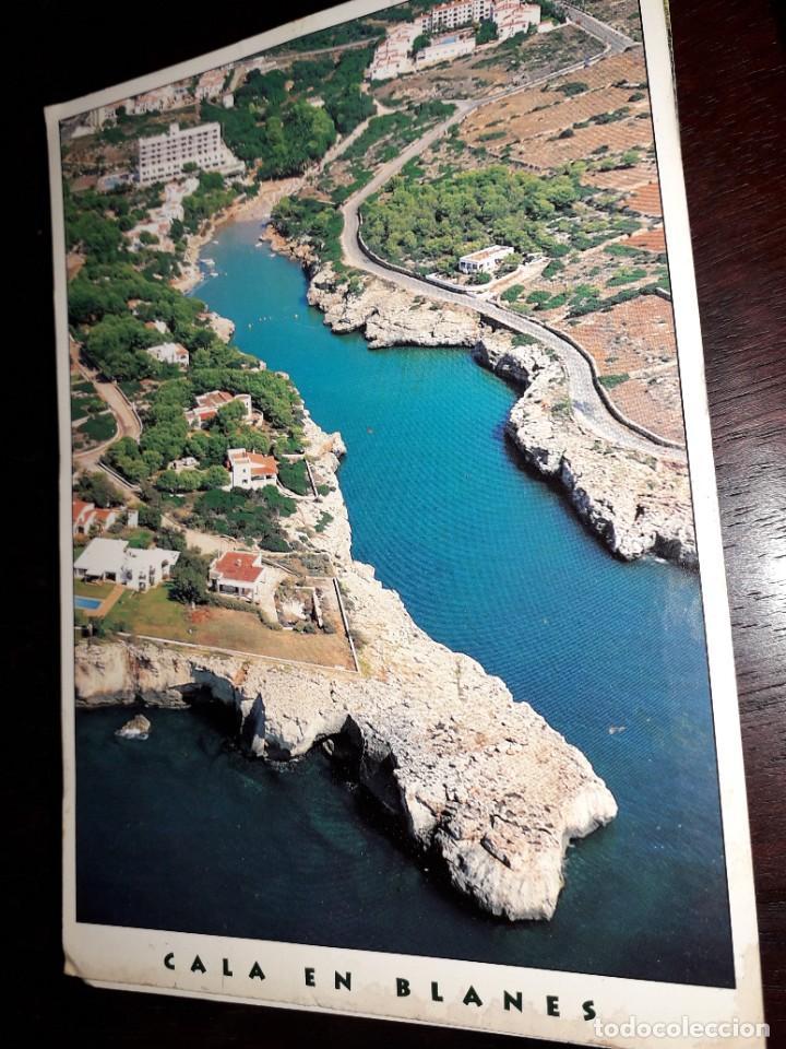 Nº 10819 POSTAL CALA EN BLANES MENORCA (Postales - España - Baleares Moderna (desde 1.940))