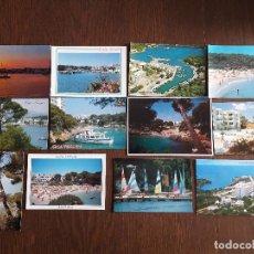 Postales: LOTE DE 12 POSTALES DE VISTAS DE LA ZONA DE CALA D'OR, MALLORCA AÑOS 80-90. Lote 184307841