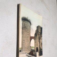 Postales: POSTAL ANTIGUA MALLORCA. CASTILLO DE BELLVER. TORRE HOMENAJE. JOSÉ TOUS. DORSO SIN DIVIDIR.. Lote 25591666
