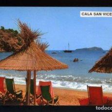 Postales: EIVISSA. SANT JOAN DE LABRITJA. CALA SANT VICENT. ED. COM. PAMPA Nº 510. NUEVA.. Lote 187326230