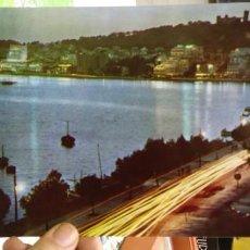 Postales: POSTAL ALMA DE MALLORCA VISTA NOCTURNA DE LA BAHIA N 21539 ARCHIVO ARTÍSTICO TAMAÑO GRANDE. Lote 187329048