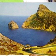 Postales: POSTAL FORMENTOR MALLORCA ROCA EL COLOMER N 21067 ARCHIVO ARTÍSTICO TAMAÑO GRANDE. Lote 187367358