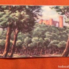 Postales: ANTIGUA POSTAL DIBUJO AYNE ESBERT EL CASTILLO DE BELLVER PALMA DE MALLORCA ESTAMPERIA RAM CIRCULADA . Lote 187619480