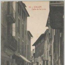 Postales: POSTAL SOLLER CALLE DE LA LUNA ED. LA ARTISTICA N° 30 MALLORCA. Lote 188486796