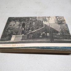 Postales: POSTAL ANTIGUA MALLORCA. FORNALUTX. BAJADA DE LA IGLESIA. THOMAS. Lote 139886946