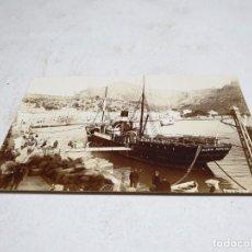 Postales: POSTAL ANTIGUA MALLORCA. SÓLLER. PUERTO. SELLO TINTA. J. BUSQUETS. . Lote 177948919