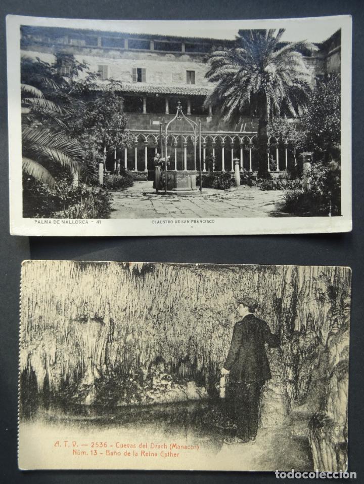 Postales: Lote de 8 antiguas postales de Mallorca, Ver fotos - Foto 6 - 189677465