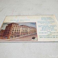 Postales: POSTAL ANTIGUA MALLORCA. HOTEL COMERCIO.. Lote 140027178