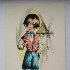 Postales: POSTAL 8 MALLORCA ILUSTRA GALLARDA BORRAS FUSTE AÑO 1963. Lote 191305870