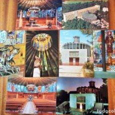Postales: IGLESIA LA PORCIÚNCULA, PALMA DE MALLORCA. ISLAS BALEARES. 8 POSTALES. SIN CIRCULAR. Lote 191488835