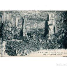 Postales: CUEVAS DEL DRACH.(MANACOR).- SALÓN DEL INFIERNO.. Lote 191491792